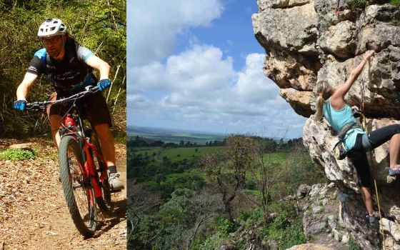 Outdoorsession Bike & Climb !
