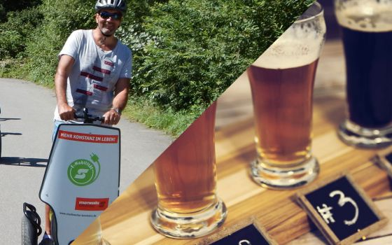 """segs and beer"" Segwaytour + Biertasting Radolfzell"