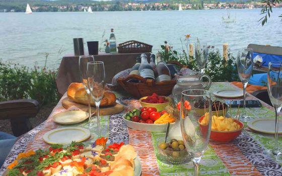 Reichenauer Seeufer Weinprobe
