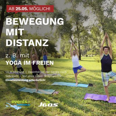 Yoga Session am See
