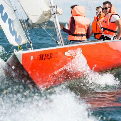 Segelevent auf dem Bodensee (Bootstyp Dias/Trias)