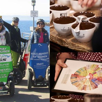 """Konstanz Kaffeefahrt deluxe"" -  Segwaytour mit Kaffeeseminar !"