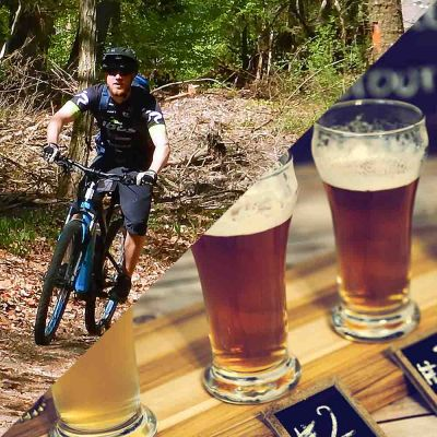"""Bike `n Beer"" E-MTB Tour + Biertasting"