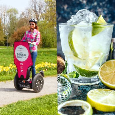 """segs and gin"" Segwaytour + Gintasting"