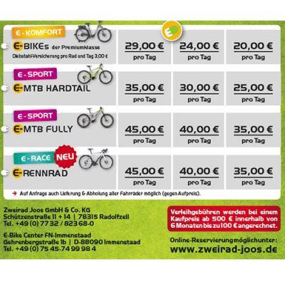 Bike & E-Bike Verleih