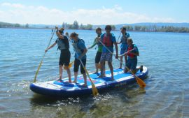 Stand Up Paddling Teamevent