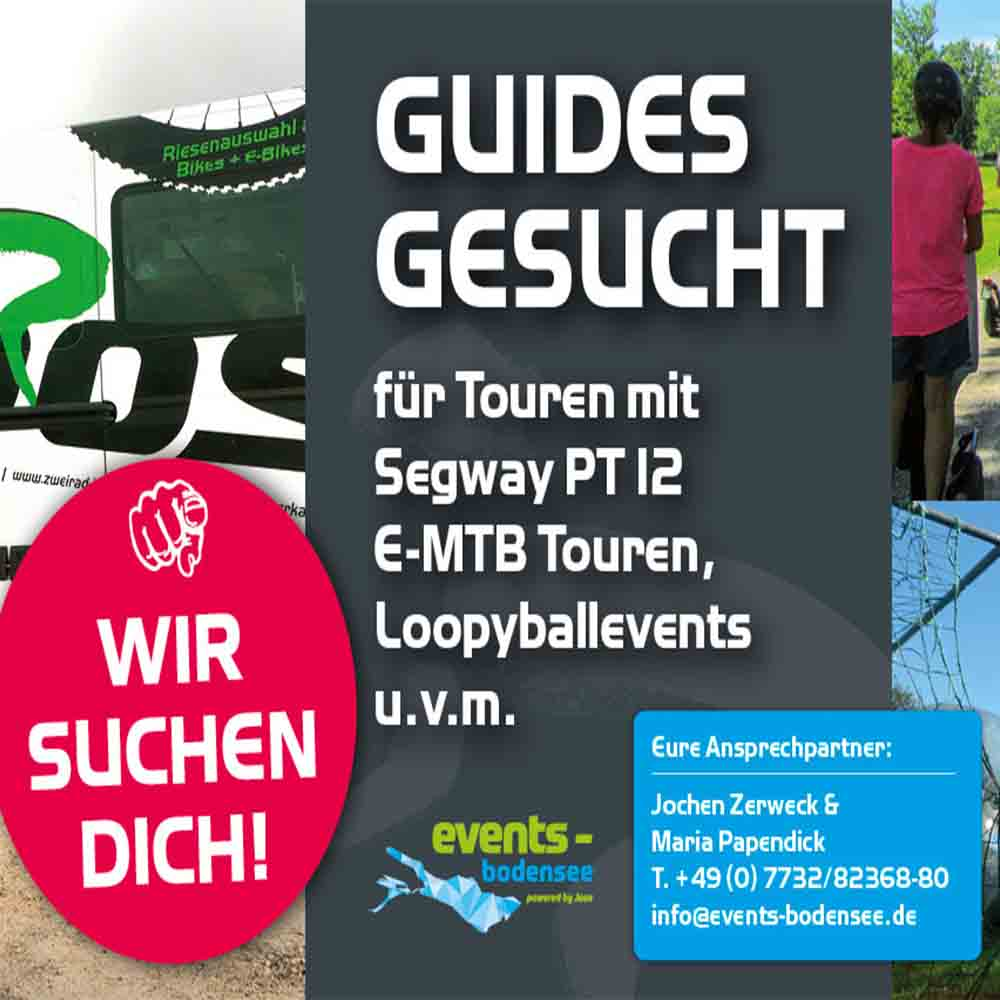Guide(s) gesucht!